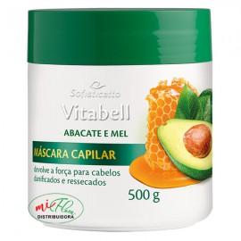 Máscara Capilar Vitabell Abacate e Mel 500g