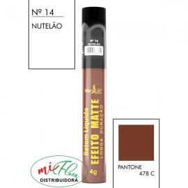 Batom Líquido Matte Nº 14 Nutelão