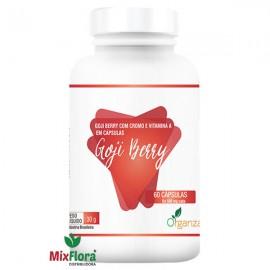 Goji Berry com Cromo e Vitamina A 30g - 60 Cápsulas