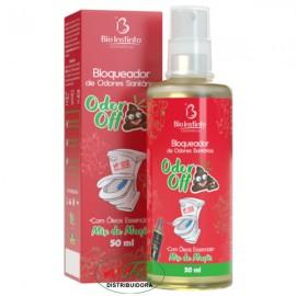 Odor Off Bloqueador de Odores Sanitários Mix de Maçã 50mL
