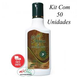 Kit Gel Com Arnica e Erva Santa Maria Com 50 Unidades