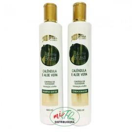 Shampoo + Condicionador Calêndula e Aloe Vera