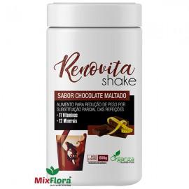 Renovita Shake Sabor Chocolate Maltado 600g