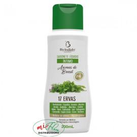 Sabonete Íntimo Aromas Brasil 17 Ervas 200mL