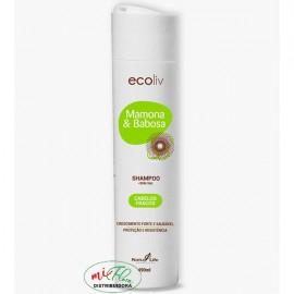 Shampoo Mamona e Babosa 490mL