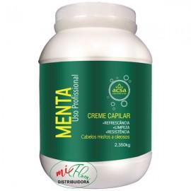 Creme Capilar Menta 2.350g