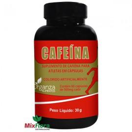 Cafeína 500mg - 60 Cápsulas