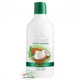 Shampoo Vitabell Coco e Cupuaçu 500mL