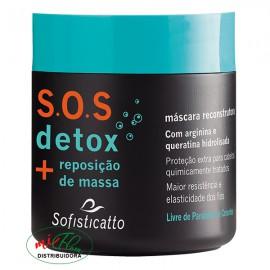 Máscara Capilar SOS Detox 500g Sofisticatto