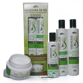 Kit Capilar Reconstrutor Gordura De Rã Com Biotina