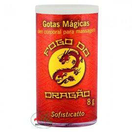 Gotas Mágicas Fogo Do Dragão 8g