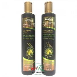 Shampoo + Condicionador Broto De Bambu e Óleo De Cártamo
