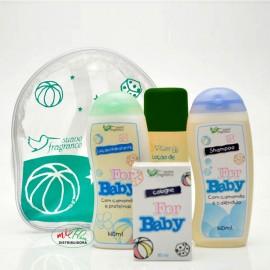 Kit Infantil For Baby - Suave Fragrance