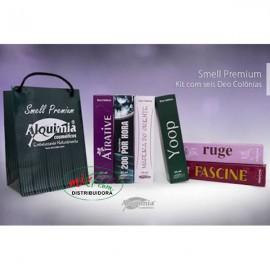 Kit Colônia Smell Premium Alquimia Cosméticos