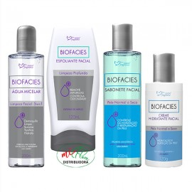 Kit Facial Biofacies Pele Normal a Seca