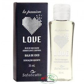 Óleo De Massagem Love Bala De Coco 35mL