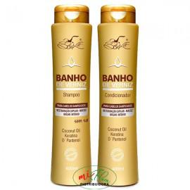 Shampoo + Condicionador Banho de Verniz BelKit