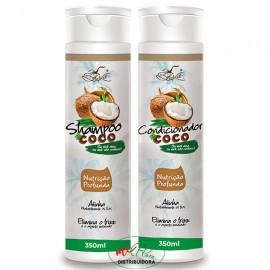 Shampoo + Condicionador + Coco Nutrição Profunda Belkit