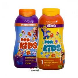 Kit Shampoo + Condicionador For Kids