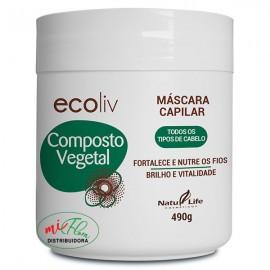 Máscara Capilar Ecoliv Composto Vegetal 490g