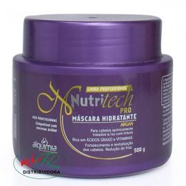 Máscara Hidratante Nutritech Pro Argan 500g