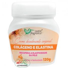 Creme Desodorante Corporal Colágeno e Elastina 120g