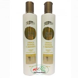 Shampoo + Condicionador Linhaça Dourada e Amaranto