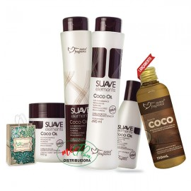 Kit Capilar Óleo De Coco Oil Suave Fragrance